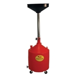 18 Gallon Polyethylene Portable Oil Drain