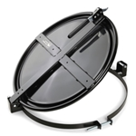 PIG® Latching Drum Lid for 55 Gallon Drum - Black